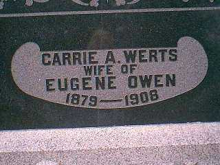 OWEN, CARRIE A. - Page County, Iowa | CARRIE A. OWEN