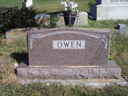 OWEN, FAMILY - Page County, Iowa | FAMILY OWEN