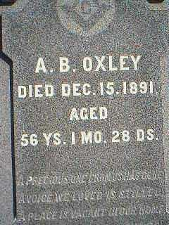 OXLEY, A.B. - Page County, Iowa | A.B. OXLEY