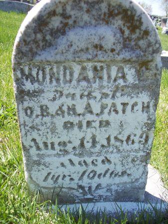 PATCH, MONDANIA E. - Page County, Iowa | MONDANIA E. PATCH