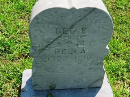 PELLA, GEORGE E - Page County, Iowa | GEORGE E PELLA