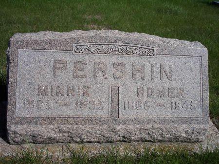 PERSHIN, MINNIE - Page County, Iowa | MINNIE PERSHIN