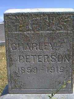 PETERSON, CHARLEY - Page County, Iowa | CHARLEY PETERSON