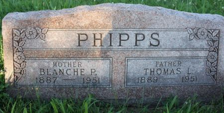 PHIPPS, BLANCHE P - Page County, Iowa | BLANCHE P PHIPPS