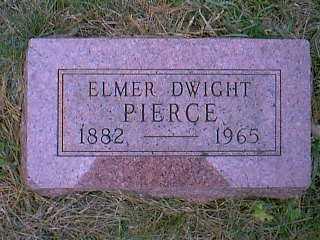 PIERCE, ELMER DWIGHT - Page County, Iowa   ELMER DWIGHT PIERCE