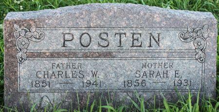 POSTEN, SARAH ELIZABETH - Page County, Iowa | SARAH ELIZABETH POSTEN