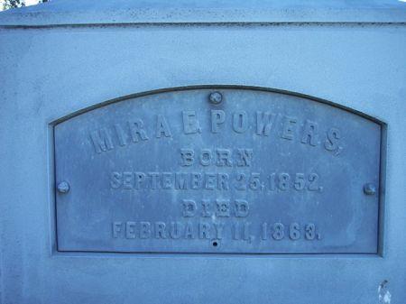 POWERS, MIRA E. - Page County, Iowa | MIRA E. POWERS