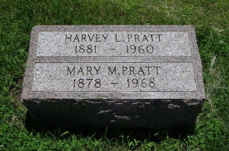 ANDREWS PRATT, MARY MAY - Page County, Iowa | MARY MAY ANDREWS PRATT