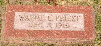 PRIEST, WAYNE E - Page County, Iowa | WAYNE E PRIEST