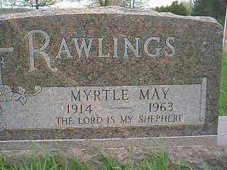 RAWLINGS, MYRTLE MAY - Page County, Iowa | MYRTLE MAY RAWLINGS