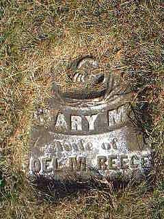 REECE, MARY - Page County, Iowa | MARY REECE