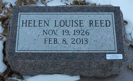 REED, HELEN LOUISE - Page County, Iowa   HELEN LOUISE REED