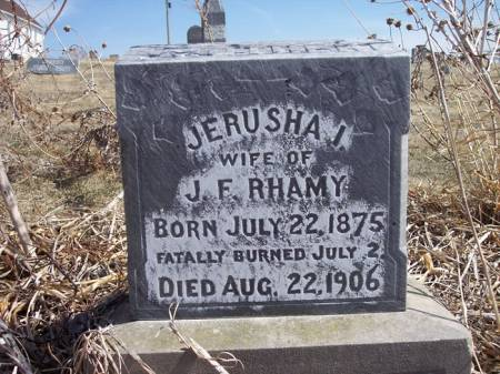 RHAMY, JERUSHA I. - Page County, Iowa | JERUSHA I. RHAMY