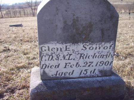RICHARDS, GLEN E. - Page County, Iowa | GLEN E. RICHARDS