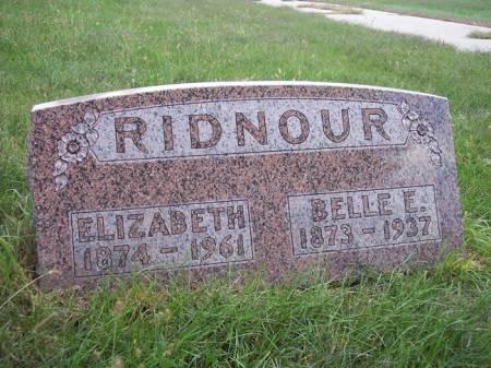 RIDNOUR, ELIZABETH - Page County, Iowa | ELIZABETH RIDNOUR