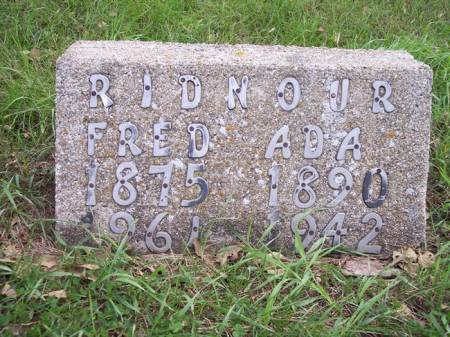 RIDNOUR, FRED - Page County, Iowa | FRED RIDNOUR
