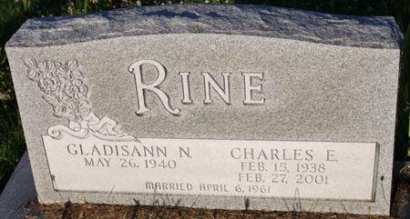 BRUCE RINE, GLADISANN - Page County, Iowa | GLADISANN BRUCE RINE