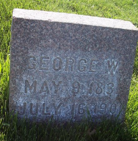 ROBINSON, GEORGE W. - Page County, Iowa | GEORGE W. ROBINSON
