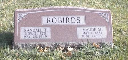 ROBIRDS, MAUDE MABLE - Page County, Iowa | MAUDE MABLE ROBIRDS
