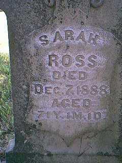 ROSS, SARAH - Page County, Iowa | SARAH ROSS