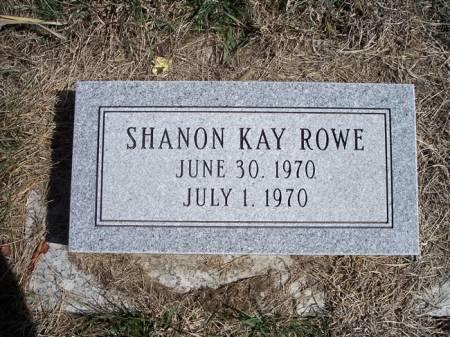 ROWE, SHANON KAY - Page County, Iowa | SHANON KAY ROWE