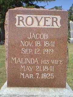 ROYER, JACOB - Page County, Iowa   JACOB ROYER