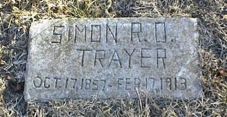 TRAYER, SIMON R. O. - Page County, Iowa | SIMON R. O. TRAYER