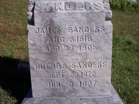 SANDERS, JAMES - Page County, Iowa | JAMES SANDERS