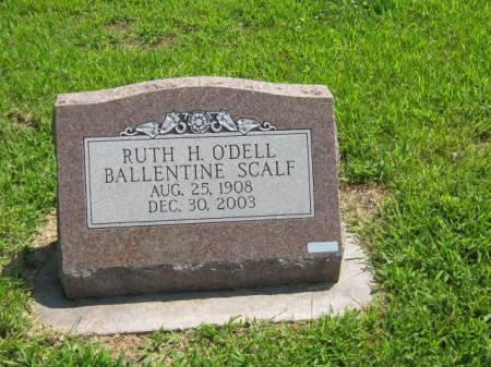 O'DELL SCALF, RUTH H - Page County, Iowa | RUTH H O'DELL SCALF