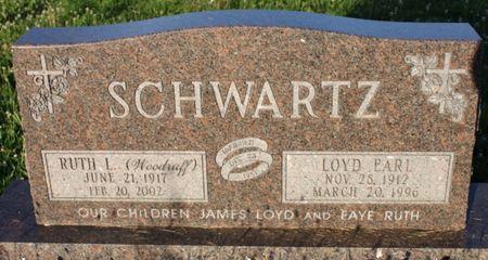 SCHWARTZ, RUTH LAVAUN - Page County, Iowa | RUTH LAVAUN SCHWARTZ