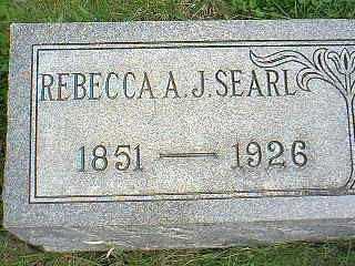 SEARL, REBECCA A. J. - Page County, Iowa | REBECCA A. J. SEARL