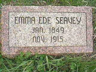 SEAVEY, EMMA EDE - Page County, Iowa | EMMA EDE SEAVEY