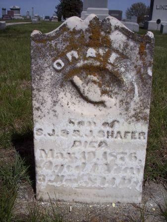 SHAFER, ORA I. - Page County, Iowa   ORA I. SHAFER