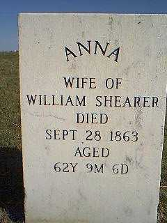 SHEARER, ANNA - Page County, Iowa | ANNA SHEARER