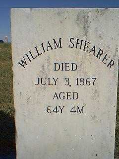 SHEARER, WILLIAM - Page County, Iowa | WILLIAM SHEARER