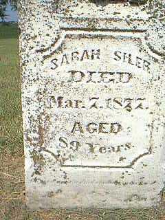 SILER, SARAH - Page County, Iowa | SARAH SILER
