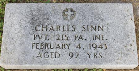 SINN, CHARLES - Page County, Iowa   CHARLES SINN