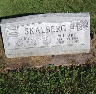 SKALBERG, MURIEL - Page County, Iowa | MURIEL SKALBERG