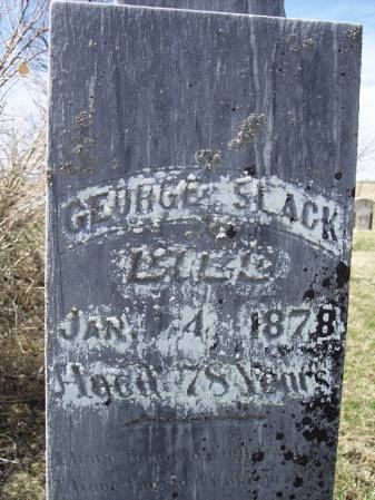 SLACK, GEORGE - Page County, Iowa | GEORGE SLACK