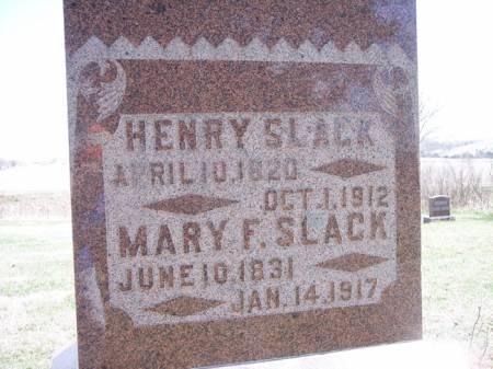 SLACK, HENRY - Page County, Iowa | HENRY SLACK