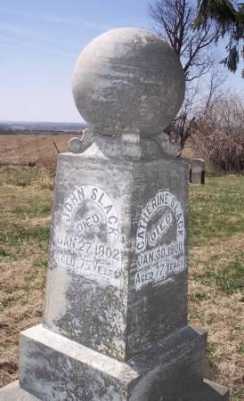 SLACK, JOHN - Page County, Iowa | JOHN SLACK
