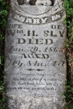SLY, MARY M - Page County, Iowa | MARY M SLY