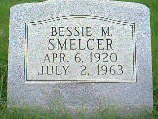 SMELCER, BESSIE M. - Page County, Iowa | BESSIE M. SMELCER