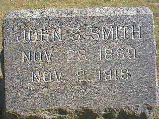 SMITH, JOHN S. - Page County, Iowa | JOHN S. SMITH