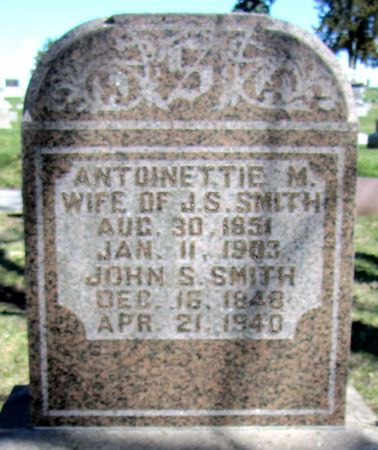 SMITH, JOHN SAMUEL - Page County, Iowa | JOHN SAMUEL SMITH