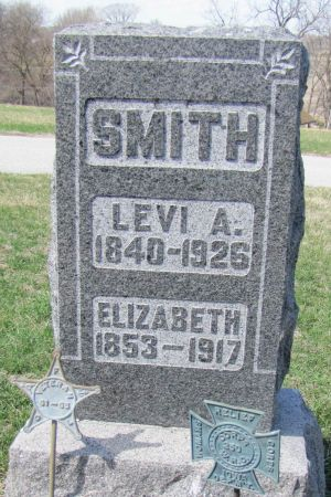 SMITH, LEVI ALEXANDER - Page County, Iowa   LEVI ALEXANDER SMITH