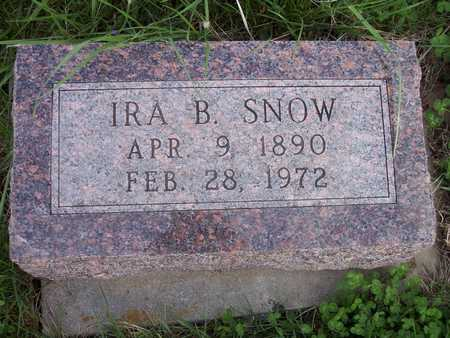 SNOW, IRA B. - Page County, Iowa | IRA B. SNOW
