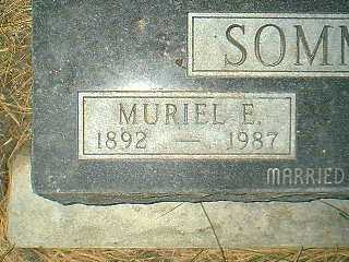 SOMMER, MURIEL E. - Page County, Iowa | MURIEL E. SOMMER