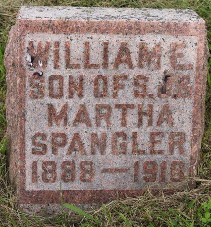 SPANGLER, WILLIAM E - Page County, Iowa   WILLIAM E SPANGLER