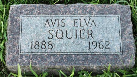 HAMM SQUIER, AVIS ELVA - Page County, Iowa   AVIS ELVA HAMM SQUIER